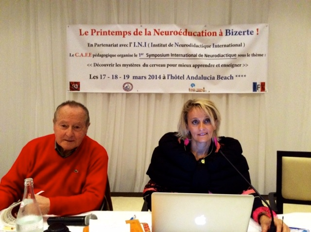 Dr. Pierre Huc, Prof. Brigitte Vincent-Smith