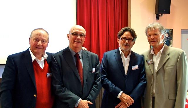 Dr Huc, Professeurs Thomas, Touchon et Smith